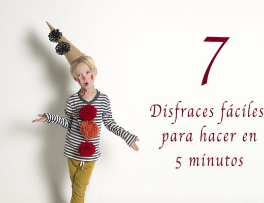 7 disfraces fáciles para hacer en 5 minutos
