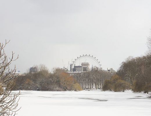 Un paseo por Londres nevado